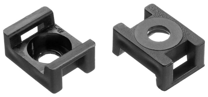 Монтажная площадка ЗУБР 30921, крепление: винт и заклепка, 23 x 16 мм
