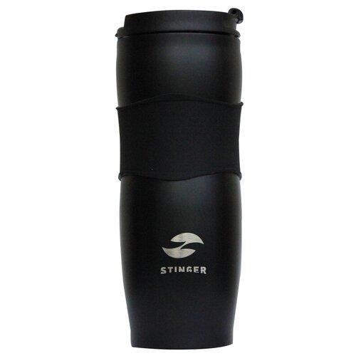 Термокружка STINGER HY-VF680, 0.4 л черный