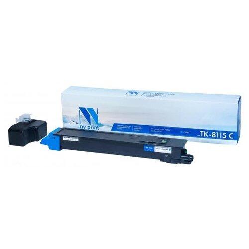Фото - Картридж NV Print TK-8515 Cyan для Kyocera, совместимый картридж nv print tk 8515 magenta для kyocera совместимый