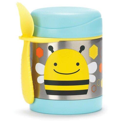 Термос для еды SKIP HOP Zoo Bee, 0.325 л желтый
