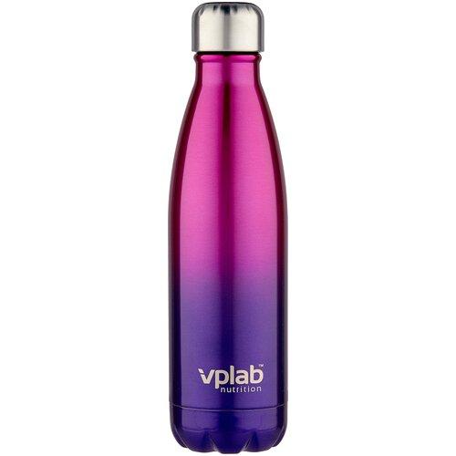Термобутылка vplab Metal Water Thermo bottle, 0.5 л пурпурный недорого