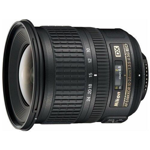 Фото - Объектив Nikon 10-24mm f/3.5-4.5G ED AF-S DX Nikkor объектив nikon af s nikkor 500mm f 5 6e pf ed vr