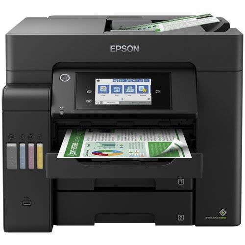 МФУ Epson EcoTank L6550, черный