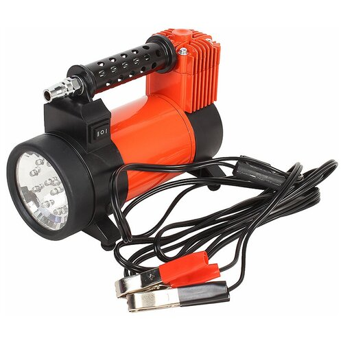 Автомобильный компрессор Агрессор AGR-50L оранжевый