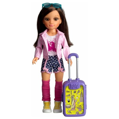 Купить Famosa Кукла Нэнси путешествие в Нью-Йорк, 42 см, Куклы и пупсы