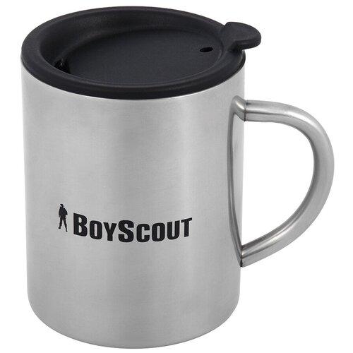 Термокружка BOYSCOUT 61137, 0.36 л серебристый