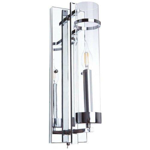 Фото - Бра Arte Lamp Hugo A1688AP-1CC, с выключателем, 60 Вт бра arte lamp serenata a3479ap 1cc с выключателем 40 вт