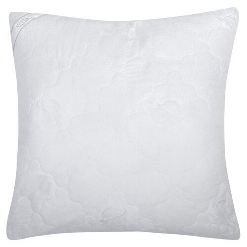 Подушка стеганная VESTA текстиль 70*70 см, искусственный лебяжий пух, ткань глосс-сатин, полиэстер 100%