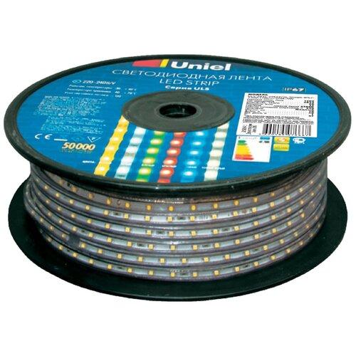 Фото - Дюралайт Uniel ULS-2835-60LED/m-10mm-IP67-220V-8W/m-50M-DW, 50 м светодиодная влагозащищенная лента uniel uls 2835 60led m 10mm ip67 220v 8w m 50m blue