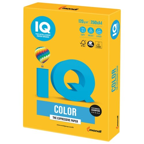 Фото - Бумага IQ Color А4 120 г/м² 250 лист. бумага heyda а4 1 лист сhecks в