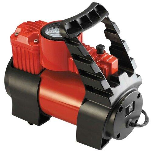 Автомобильный компрессор ZiPOWER PM6506 красный