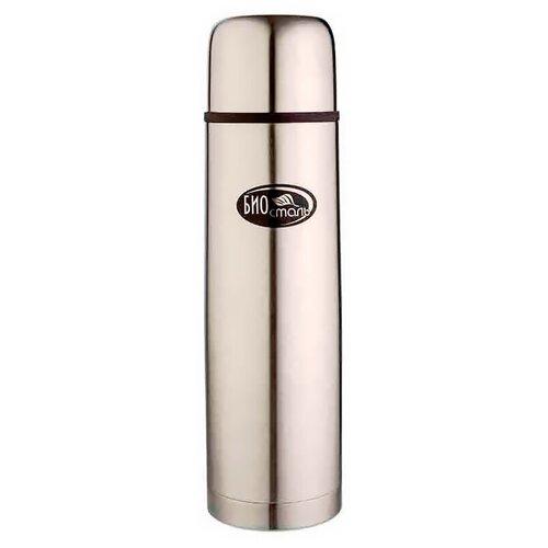 Классический термос Biostal NB-1000 2 пробки, 1 л стальной недорого