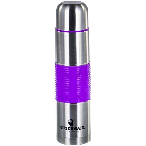 Классический термос Guterwahl Keep warm, 1 л фиолетовый