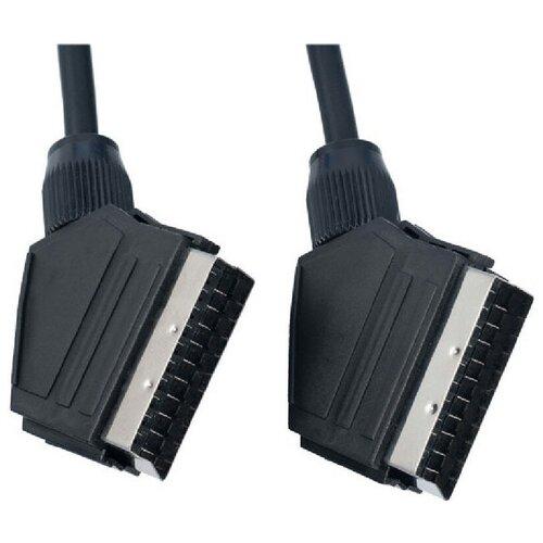 PERFEO Кабель SCART (21 pin) вилка - SCART (21 pin) вилка, длина 2 м. (S8001)