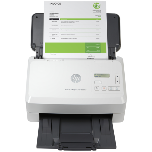 Сканер HP ScanJet Enterprise Flow 5000 s5 белый