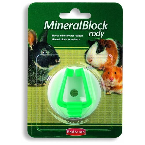 Padovan Mineralblock rody добавка в корм 1 шт 50 г