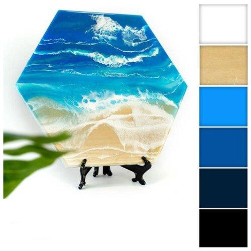 Купить Набор для создания картины эпоксидной смолой ResinArtBox 012, Наборы для декупажа