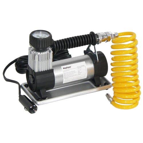 Автомобильный компрессор MegaPower M-19010 черный/серебристый