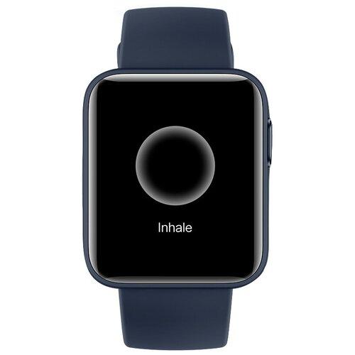 Умные часы Xiaomi Mi Watch Lite, темно-синий смарт часы xiaomi mi watch lite ru 1 4 синий синий [bhr4705ru]