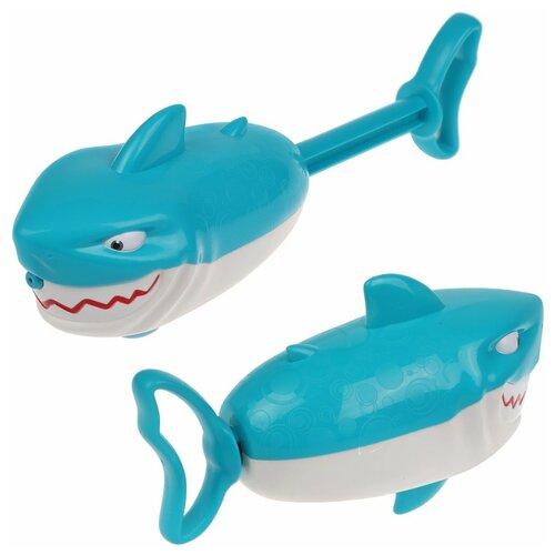Игрушка-брызгалка для ванной Наша Игрушка Акула (Y19744036)