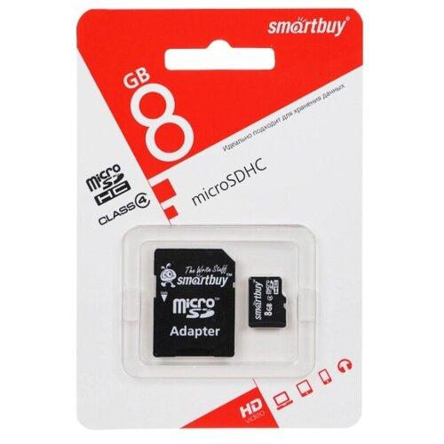 Фото - Карта памяти Smartbuy Micro SD 8 Гб карта памяти hoco micro sdhc 8 гб зеленый