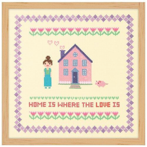 Купить Набор для вышивания Розовая мансарда XIU Crafts 2870712, Наборы для вышивания