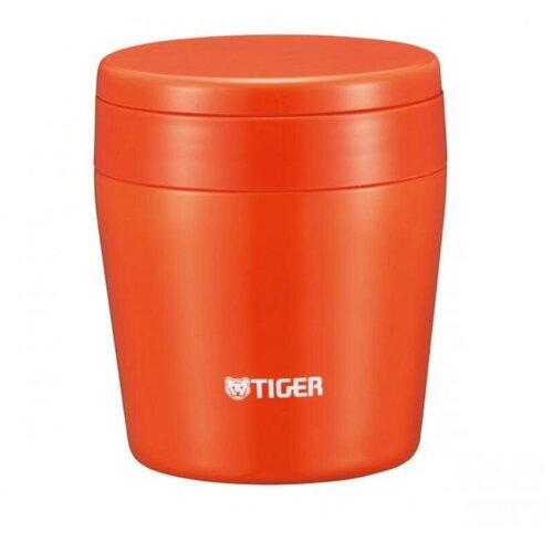 Термос для еды TIGER MCL-B038, 0.38 л chilli red