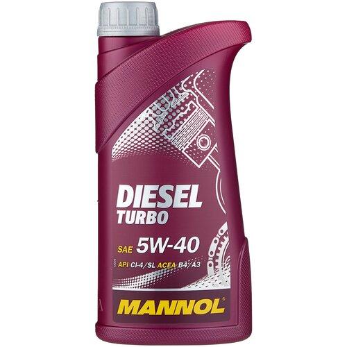 Фото - Синтетическое моторное масло Mannol Diesel Turbo 5W-40 1 л минеральное моторное масло mannol ts 1 shpd 15w 40 10 л