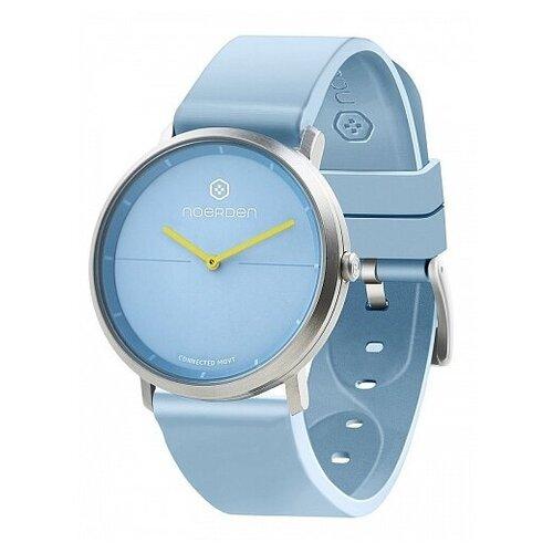 Смарт-часы Noerden гибридные LIFE2 голубые