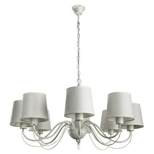 Люстра Arte Lamp Orlean A9310LM-8WG, E27, 320 Вт недорого