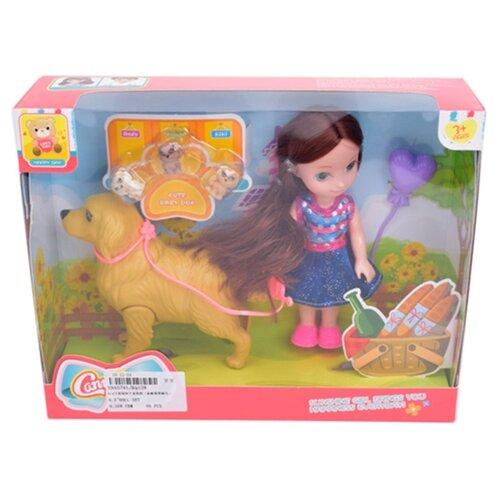 Фото - Кукла Shantou Gepai Любимый питомец, 15.5 см, KQ128 машины shantou gepai катер электронный 40 см
