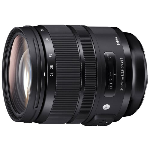 Объектив Sigma AF 24-70mm f/2.8 DG OS HSM Art Canon EF объектив sigma af 60 600mm f 4 5 6 3 dg os hsm s nikon