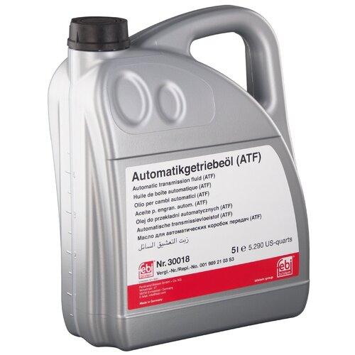 Масло трансмиссионное Febi ATF 5 5 л недорого