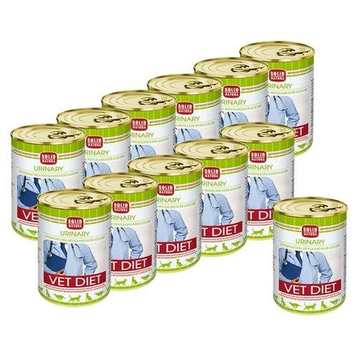 Влажный корм для кошек Solid Natura Vet Diet для лечения МКБ 12 шт. х 340 г