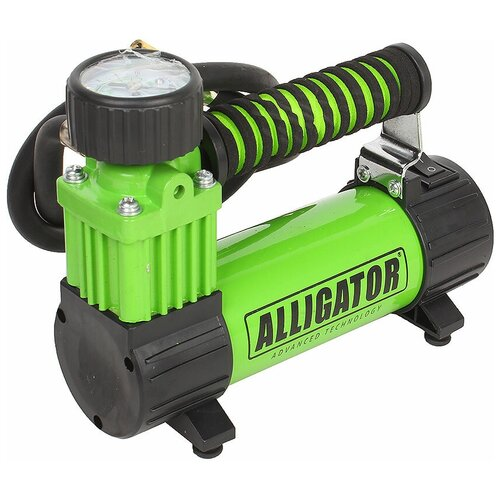Автомобильный компрессор Alligator AL-300Z зеленый