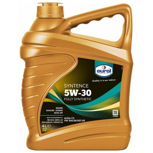 Синтетическое моторное масло Eurol Syntence 5W-30, 4 л по цене 2 817