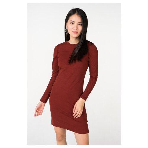 Платье Scotch & Soda 133.18FWLM.0788146600.0041 женское Цвет Бордовый Однотонный р-р 44 S