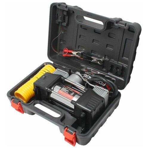 Автомобильный компрессор Forsage F-2014360 серебристый/черный