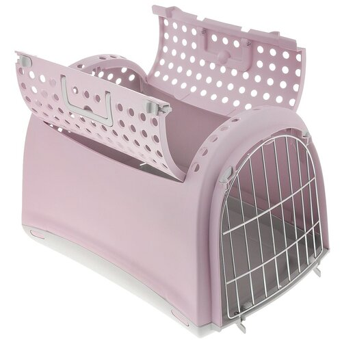 Фото - Клиппер-переноска для собак Imac Linus Cabrio 32х34х50 см розовый клиппер переноска для собак imac linus cabrio 50х32х34 см розовый