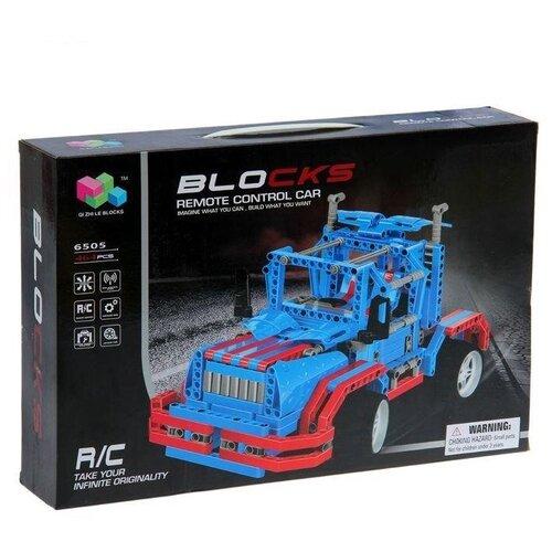 Фото - Конструктор Qi Zhi Le R/C Blocks Car 6505 Truck zhi gang sha soul wisdom