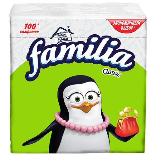 Салфетки Familia Classic, 100 шт.