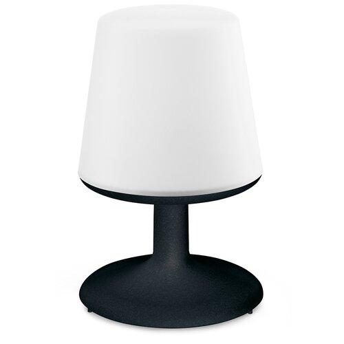 Лампа настольная Koziol LIGHT TO GO черная (3799526)