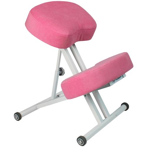 Коленный стул ОЛИМП Комфорт Розовый Пони