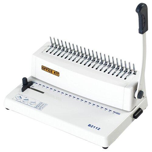 Механический брошюровщик Office Kit B2112 белый