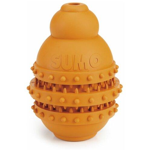 Игрушка для собак Beeztees Sumo Play Dental для зубов M оранжевый
