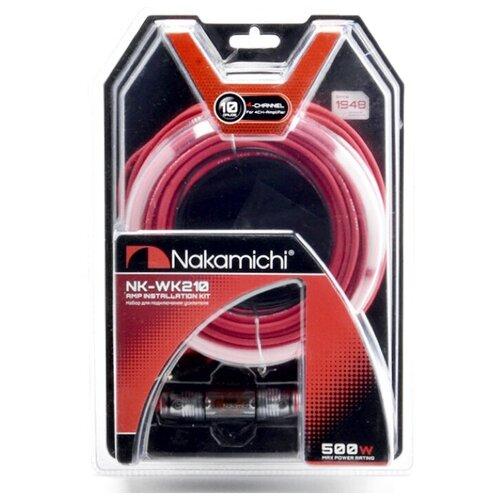 Установочный комплект Nakamichi NK-WK210 красный/черный