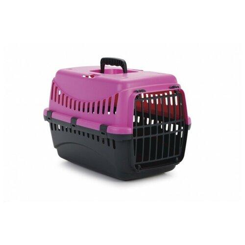 Фото - Клиппер-переноска для собак Beeztees Gypsy 26х29х45 см розовый/антрацитовый клиппер переноска для собак imac linus cabrio 50х32х34 см розовый