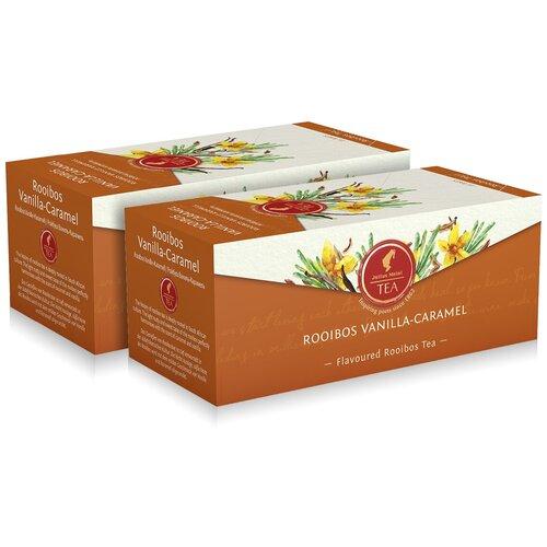 julius meinl семь морей чай улун листовой 50 г Чай Julius Meinl пакетированный премиум Ройбуш Ваниль-карамель, 25 пак. (1+1)