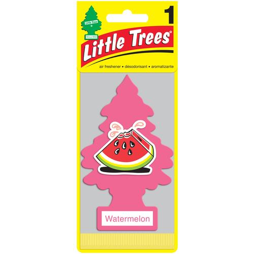 Little Trees Ароматизатор для автомобиля Ёлочка Арбуз (Watermelon) little trees ароматизатор для автомобиля ёлочка не курить no smoking