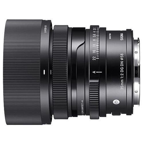Фото - Объектив Sigma 35mm f/2 DG DN Contemporary Sony E черный объектив sigma 35mm f 1 4 dg dn art l mount черный